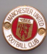 Manchester United - Medium Round gold / white / red (Reeves)