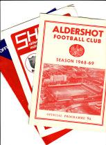 50 x Aldershot progs