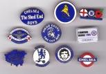 10 Chelsea Badges (content varies)
