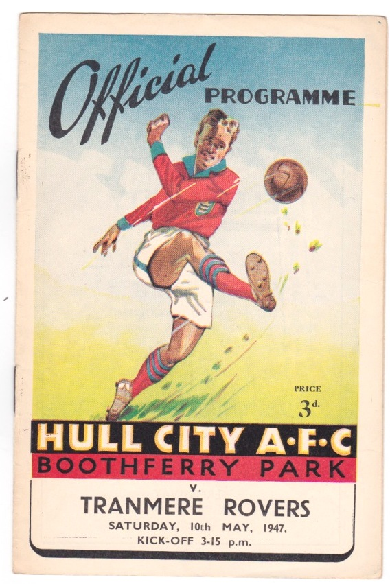 Hull City v Tranmere - 1946/1947