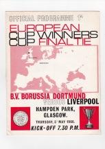 Borussia Dortmund v Liverpool - 1965/1966