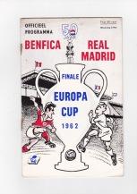 Benfica v Real Madrid - 1961/1962